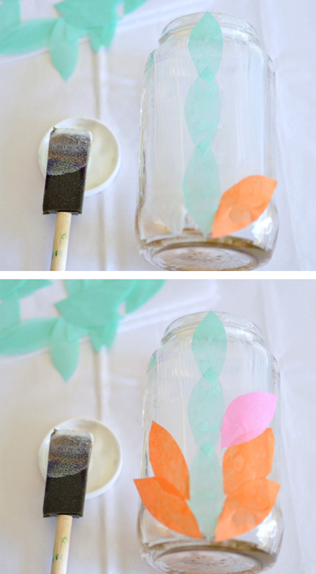 تزئین شیشه برای ساخت جامدادی