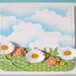 آموزش درست کردن کارت پستال آسمان ابری+تصاویر