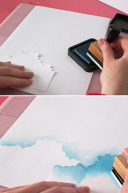درست کردن کارت پستال