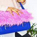 آموزش تزئین کیف دخترانه با خز+تصاویر
