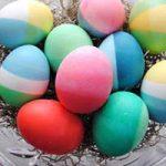 آموزش رنگ آمیزی تخم مرغ با رنگ های خوراکی+تصاویر