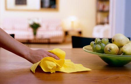 تمیز نگه داشتن خانه