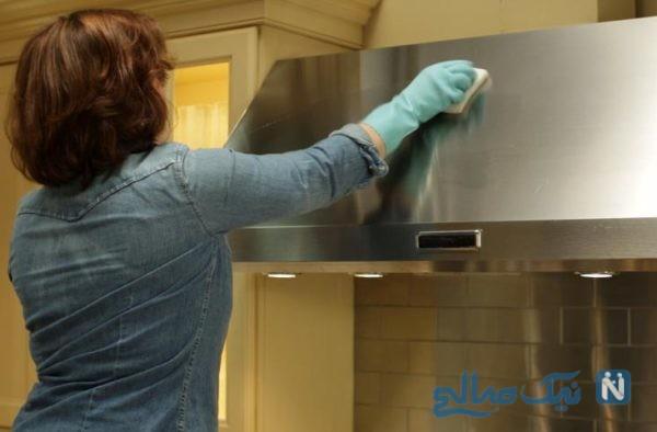تمیزی هود آشپزخانه