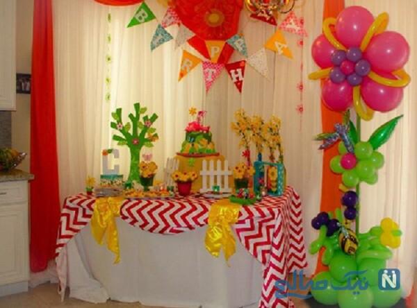 تزیین خوراکی های جشن تولد