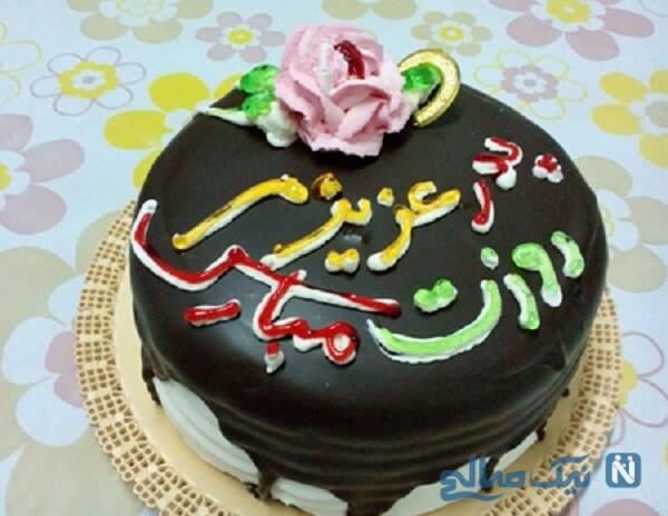 تزیین کیک پدر