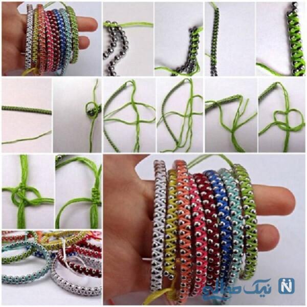 انواع بافت دستبند
