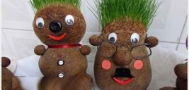 شیوه درست کردن سبزه عروسکی برای عید نوروز