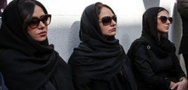 تصاویر مراسم تشییع پیکر ناصر ملک مطیعی و انتقاد پرویز پرستویی از مهران مدیری!