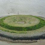 جزیره ای مصنوعی در انگلستان در شمایل یک شیرینی دونات!