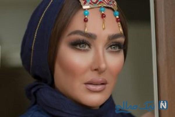 حضور الهام حمیدی در برنامه دورهمی مهران مدیری + تصاویر و زمان پخش