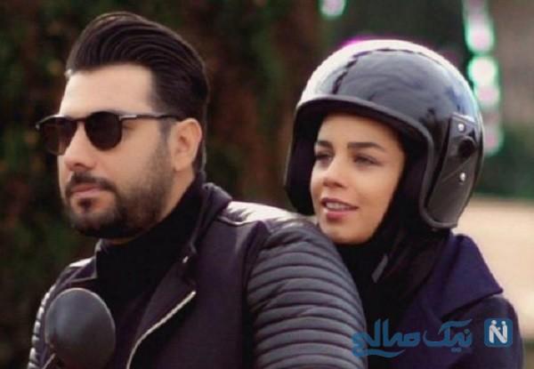 عکس های جدید و متفاوت احسان خواجه امیری با همسرش لیلا ربانی + بیوگرافی