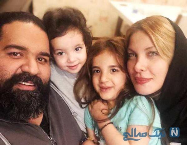 عکس های جدید و زیبای رضا صادقی با همسر و دخترش تیارا + بیوگرافی کامل