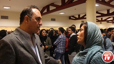 کدام ستاره ها به رونمایی خصوصی شهاب حسینی در زعفرانیه رفتند؟ + تصاویر