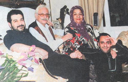 خاطرات جالب خواستگاری و ازدواج جمشید مشایخی در برنامه دورهمی + عکس همسرش
