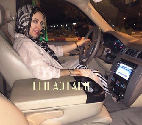 عکس های جدید لیلا اوتادی در حال تفریح کردن در کیش!!