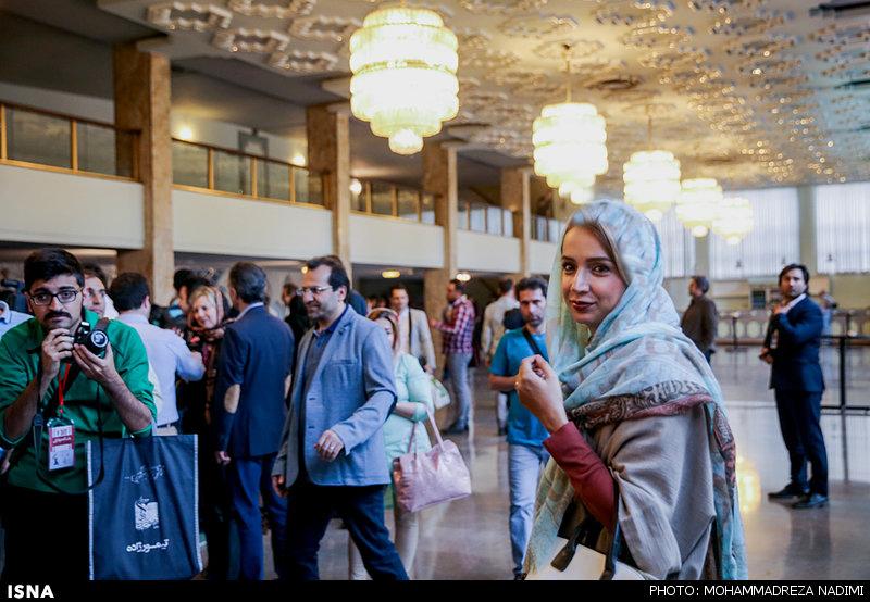 بازیگران مشهور در اختتامیه سی و چهارمین جشنواره بین المللی فیلم فجر + تصاویر