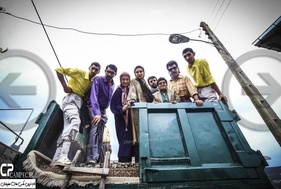 عکس های منتشر نشده از بازیگران سریال پایتخت۴