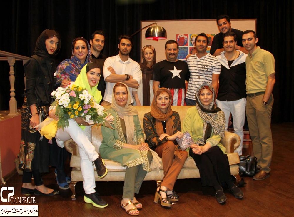 یکتا ناصر و لیلا بلوکات در اختتامیه نمایش رام کردن مرد سرکش + تصاویر