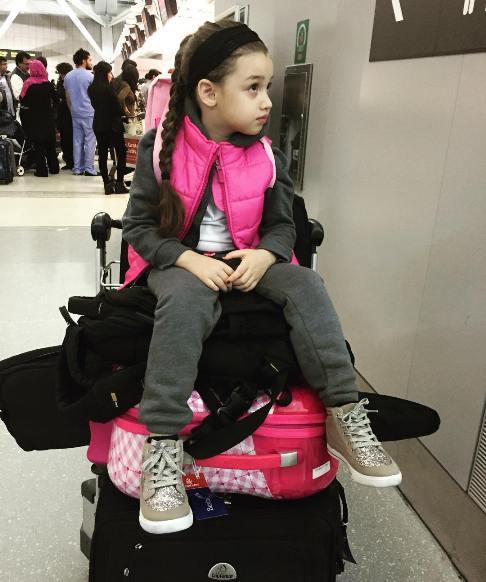 تبریک جالب بنیامین بهادری به دخترش بارانا! + تصاویر
