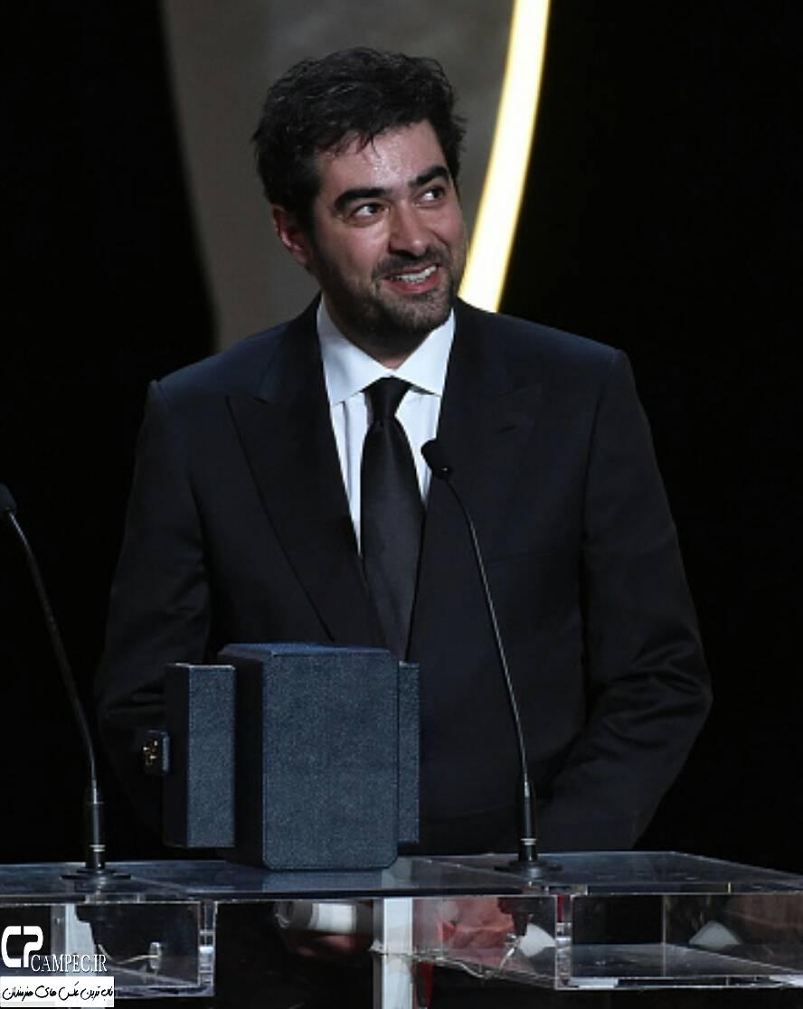 شهاب حسینی پس از دریافت نخل طلا چه گفت؟ + تصاویر