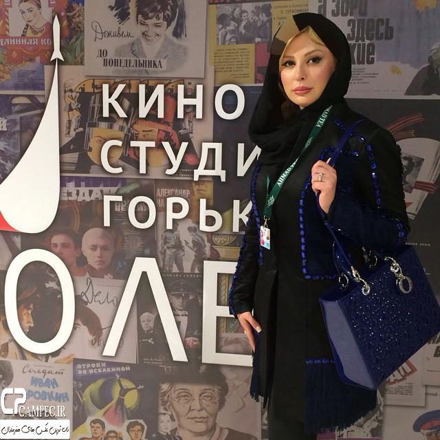 عکس های جدید نیوشا ضیغمی و همسرش در روسیه