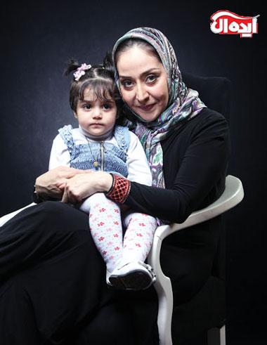 بازیگر مجرد ایرانی که مادر شدن را تجربه کرد + تصاویر