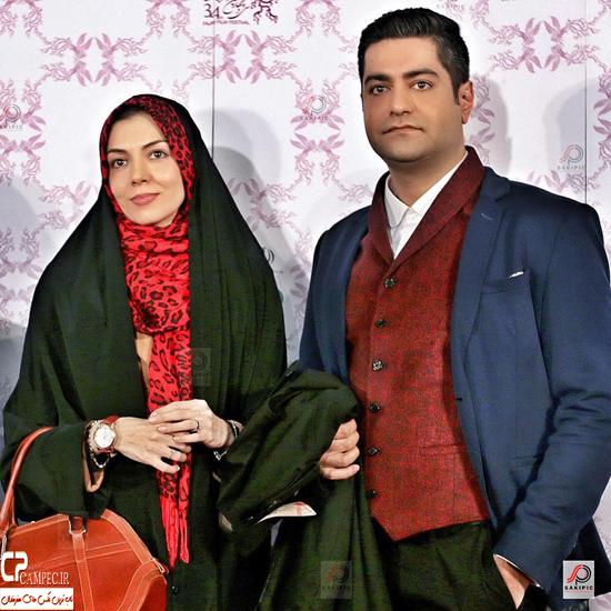 عکس های جدید آزاده نامداری با همسرش روی فرش قرمز جشنواره فیلم فجر
