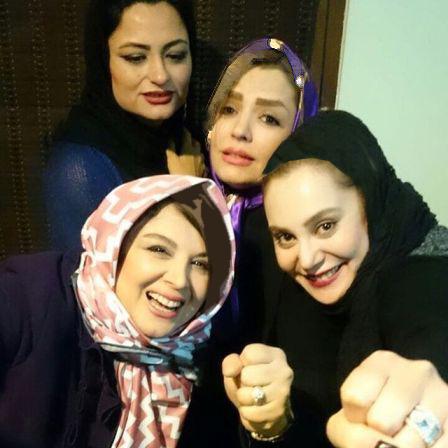 عکس های جشن تولد ۳۵سالگی آرام جعفری در کنار سایر بازیگران زن