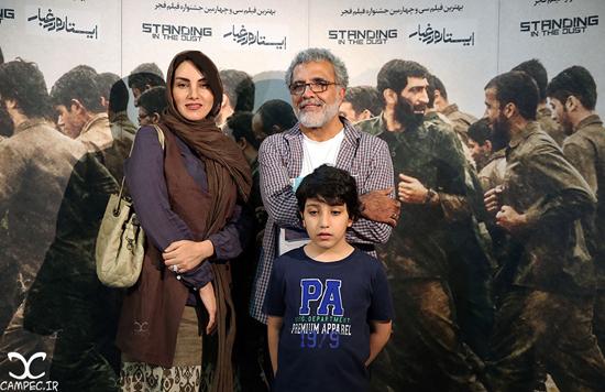 عکس های مراسم اکران فیلم ایستاده در غبار با حضور بازیگران مشهور