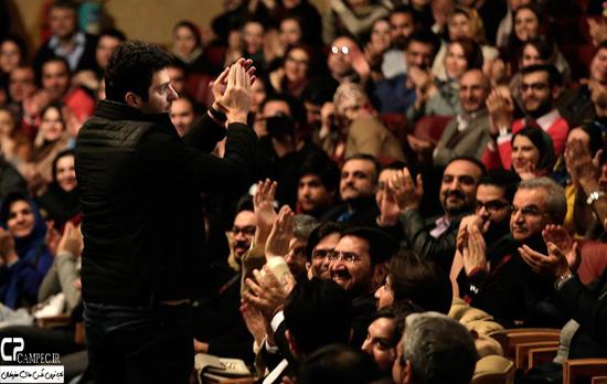 هنرمندان مشهور در کنسرت حجت اشرف زاده + تصاویر