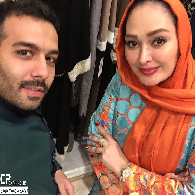 عکس های دیدنی الهام حمیدی و دو بازیگر مشهور زن دیگر در افتتاحیه برند نیو حجاب
