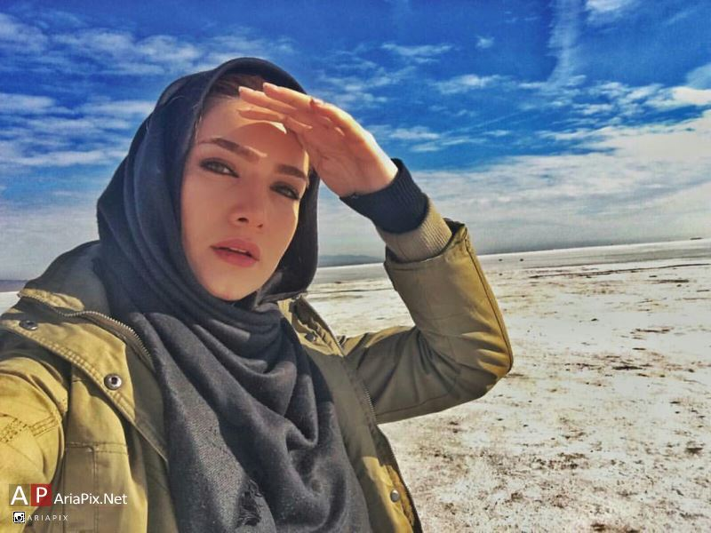 عکس های جدید متین ستوده بازیگرنقش ریحانه در سریال غیرعلنی