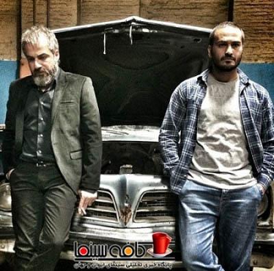 اولین تصویر از فیلم سام قریبیان با حضور امیر آقایی و میلاد کی مرام + گریم متفاوت امیر آقایی
