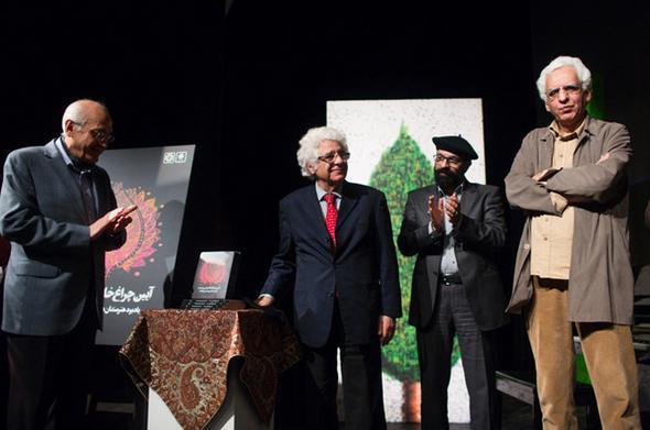 مراسم یادبود هنرمندان درگذشته سال ۹۴ با حضور بازیگران و هنرمندان مشهور + تصاویر