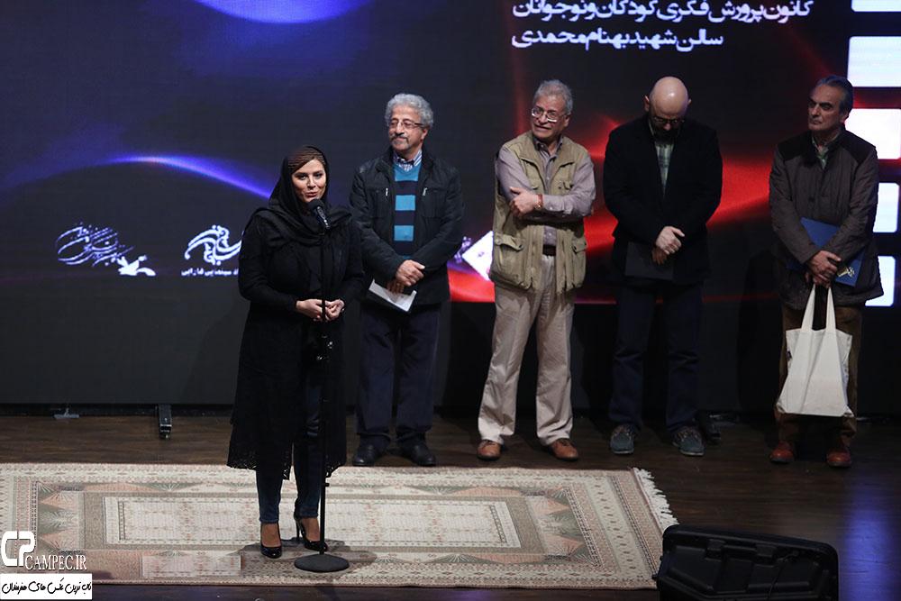 عکس های نهمین جشن منتقدان و نویسندگان سینمایی ایران با حضور بازیگران و هنرمندان مشهور