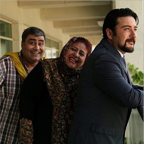 وقتی بازیگر زن اجازه نداد امیرحسین صدیق یک عکس تکی بگیرد + تصاویر