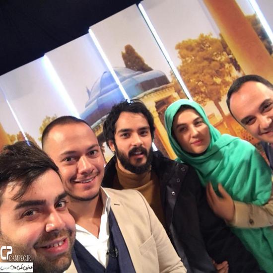 گلوریا هاردی و همسرش ساعد سهیلی در برنامه خوشا شیراز + تصاویر