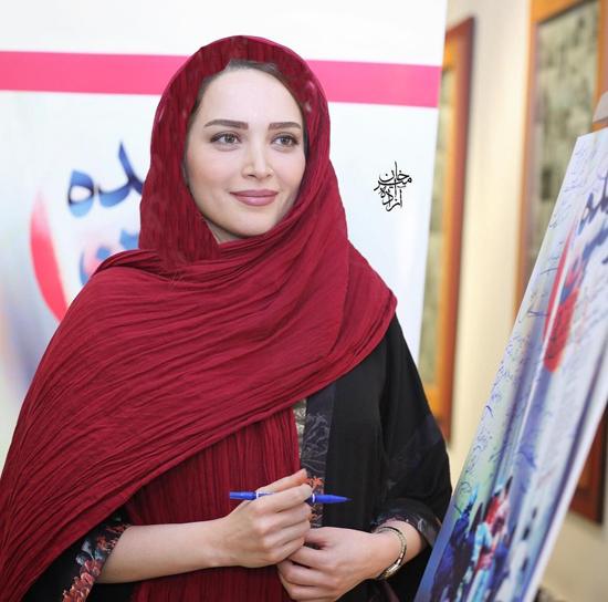 مهدی پاکدل و همسرش بهنوش طباطبایی در اکران فیلم دونده زمین + تصاویر
