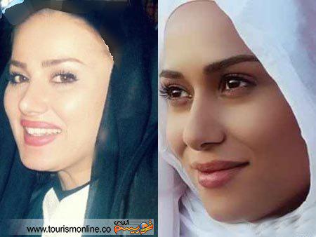 شباهت جالب چهره دو بازیگر زن ایرانی / یکی گمنام دیگری معروف + تصاویر