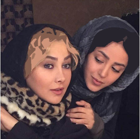 هنگامه حمیدزاده و آنا نعمتی بازیگران زن سینما+عکس