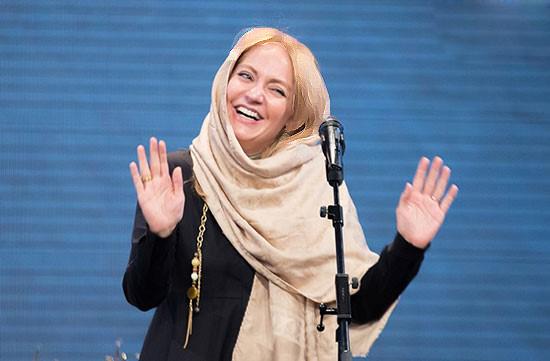 مهناز افشار در مراسم اختتامیه سریال شهرزاد!+تصاویر