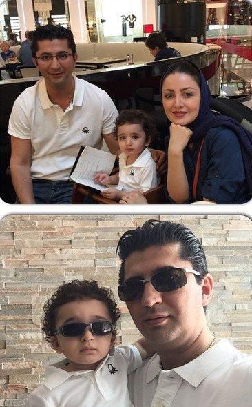 جشن تولد همسر شیلا خداداد با کیک ویژه اش + تصاویر