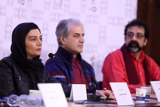 بازیگران در نشست خبری فیلم برادرم خسرو در جشنواره فجر + تصاویر