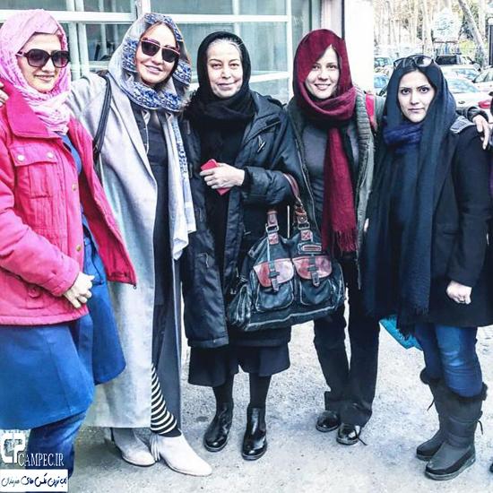 عکس های جدید مهناز افشار در دی ماه