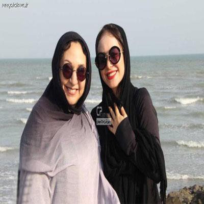 الناز حبیبی و مریم سعادت+عکس