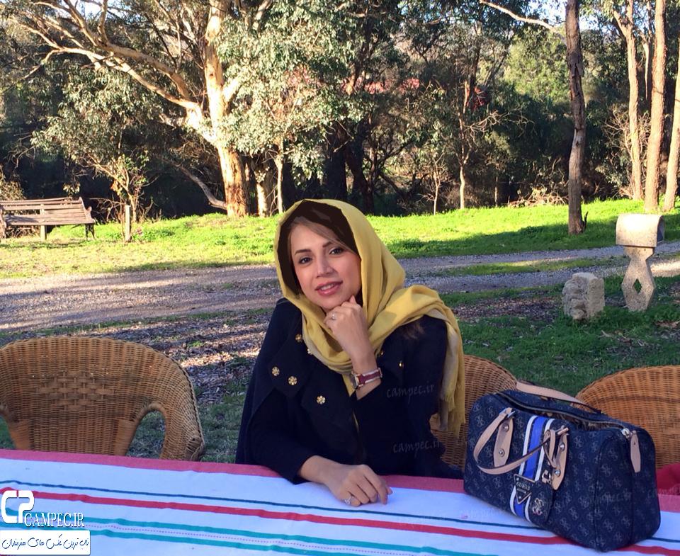 خوشگذرانی شبنم قلی خانی و همسرش در استرالیا + تصاویر