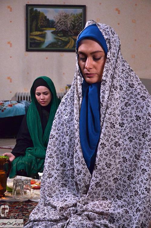 گریم جدید سحر قریشی و ملیکا شریفی نیا در فیلم مشترکشان + تصاویر