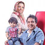 بهزاد محمدی بازیگر کمدی مشهور با همسر و فرزندش + تصاویر و زندگینامه