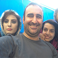 عکس های مهران احمدی بازیگر دوست داشتنی با دختر و همسرش + بیوگرافی