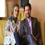 نمایشگاه هنری مشترک امیرحسین مدرس و همسرش + تصاویر